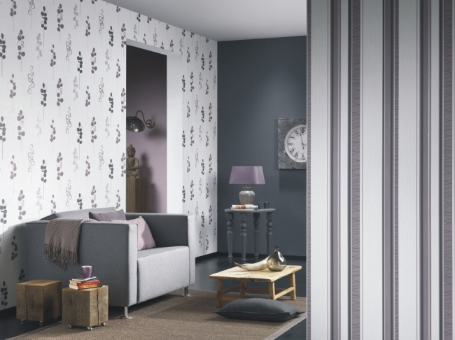 p s tapeten novara 13084 50 vlies neu streifen gestreift wei gr n ebay. Black Bedroom Furniture Sets. Home Design Ideas