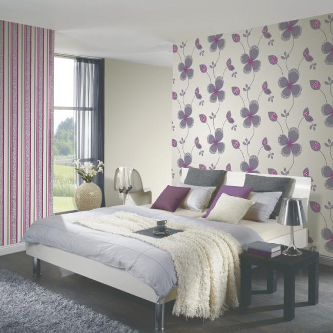 p s tapeten confetti 13054 10 vlies neu streifen gestreift creme gr n braun ebay. Black Bedroom Furniture Sets. Home Design Ideas