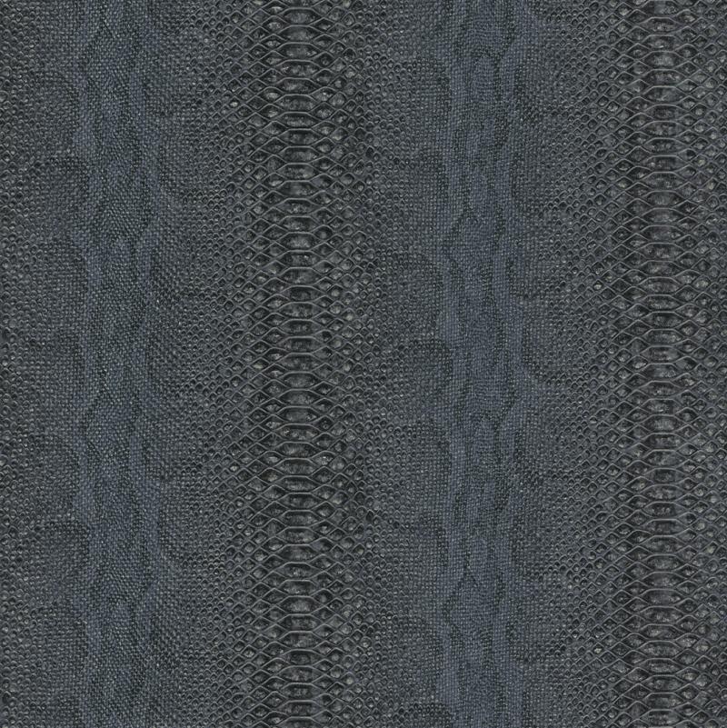 rasch tapete barbara becker 2014 453348 vlies neu afrika schlange schwarz blau ebay. Black Bedroom Furniture Sets. Home Design Ideas