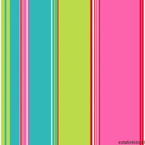 Belle Rose 2014 -115719 Rasch Textil Tapeten Neu Streifen Türkis Grün Pink