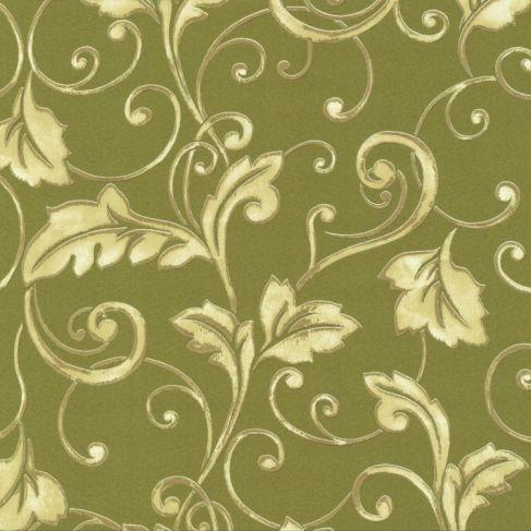 intense 2014 02260 50 tapete barock gr n gold metallic vliestapete neu ebay. Black Bedroom Furniture Sets. Home Design Ideas