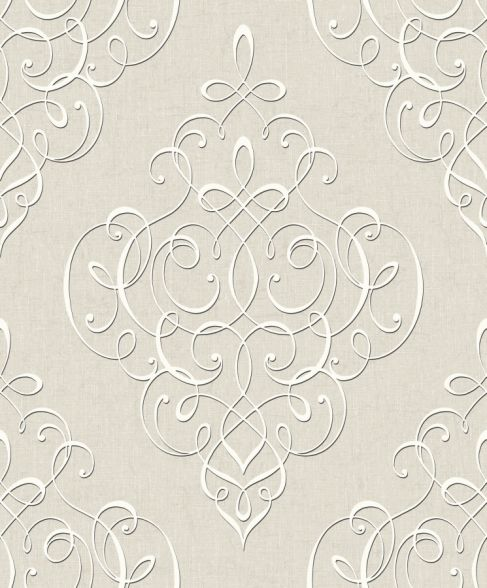 hidden richness 227332 tapete vlies barock ornament grau beige silber gl nzend ebay. Black Bedroom Furniture Sets. Home Design Ideas