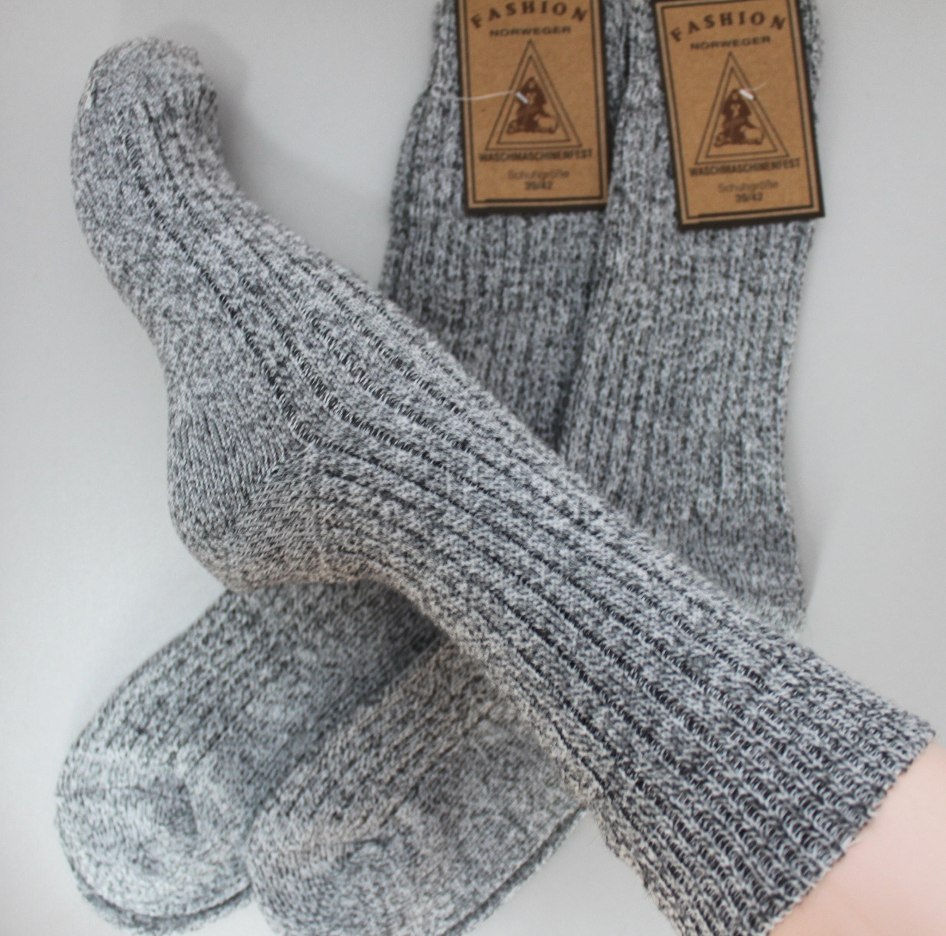 FussFreunde, 6 Paar TippTexx24 Norweger-Socken wie selbstgestrickt. Diese Wollsocken sind perfekt wärmend an kalten Wintertagen. Unsere bewährte gute Qualität zum Schnäppchenpreis.