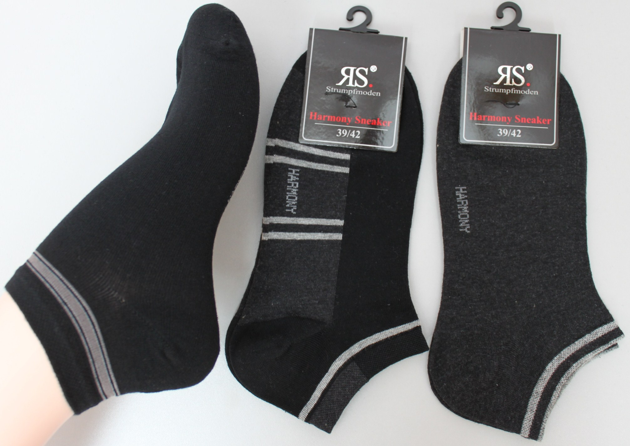 sneakersocken herren sneaker kurze socken f linge rs ebay. Black Bedroom Furniture Sets. Home Design Ideas