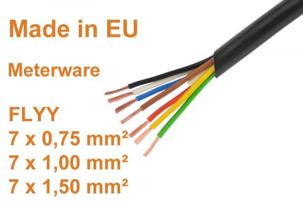 7-poliges-KFZ-Leitung-Anhaengerkabel-Fahrzeugleitung-Meterware-7-polig-Kabel