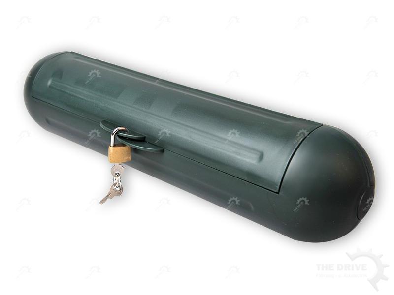 sicherheitsbox f r cee stecker schuko kabelbox camping. Black Bedroom Furniture Sets. Home Design Ideas