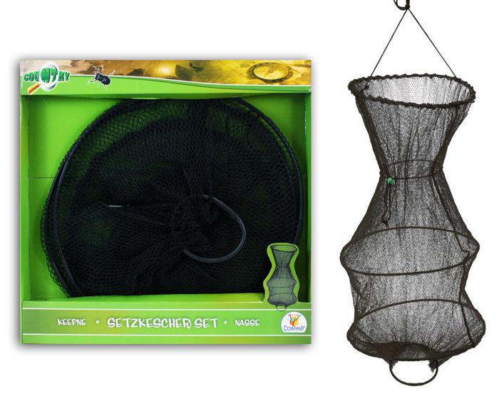 setzkescher kescher netz ttc neu ca 70cm sonderposten ebay. Black Bedroom Furniture Sets. Home Design Ideas