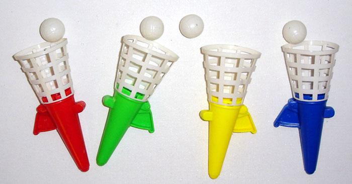 24 fangbecher fangballspiel geschicklichkeitsspiel kindergeburtstag sonderposten ebay. Black Bedroom Furniture Sets. Home Design Ideas