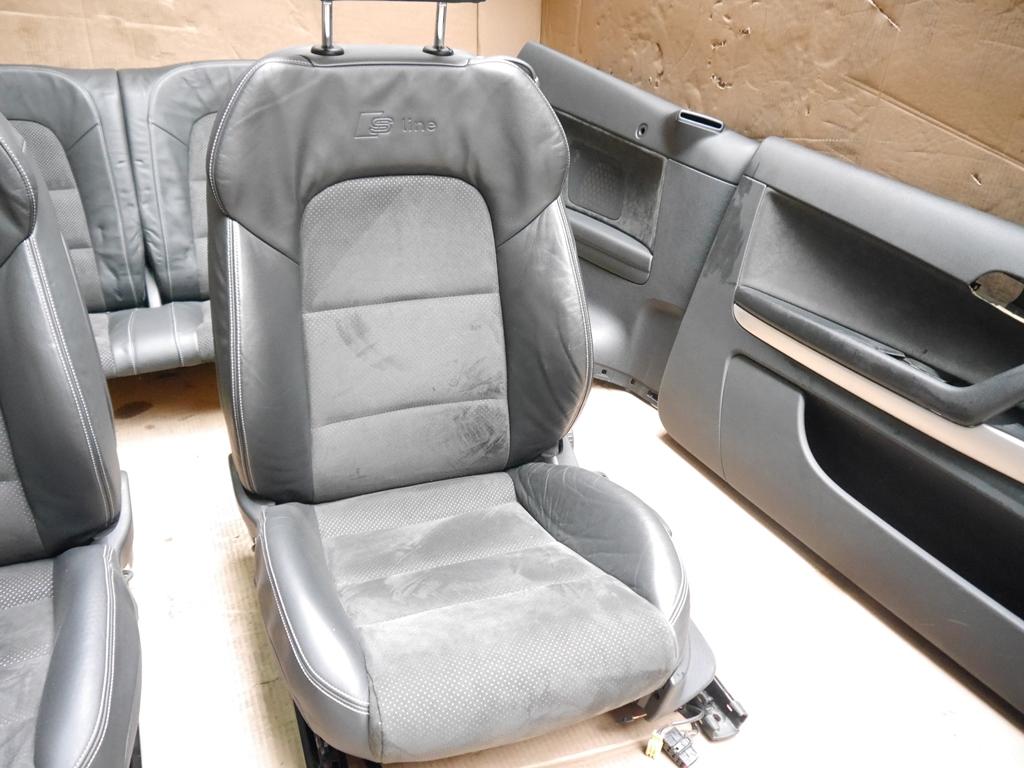 original audi a3 8p cabrio s line innenausstattung sitze. Black Bedroom Furniture Sets. Home Design Ideas