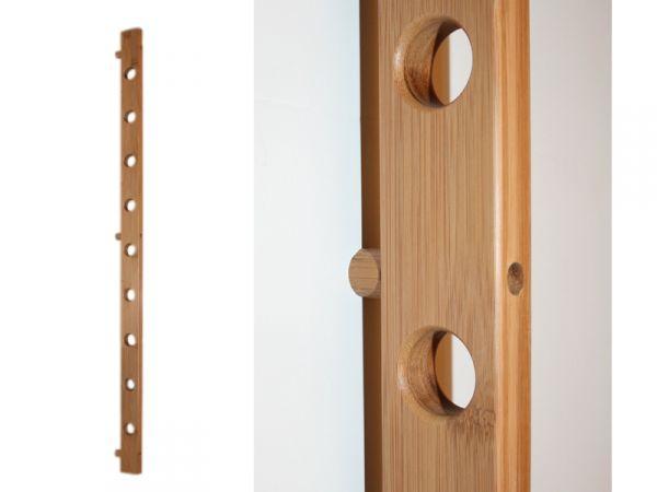 weinregal vino f r 9 weinflaschen bambus wein geschenk. Black Bedroom Furniture Sets. Home Design Ideas