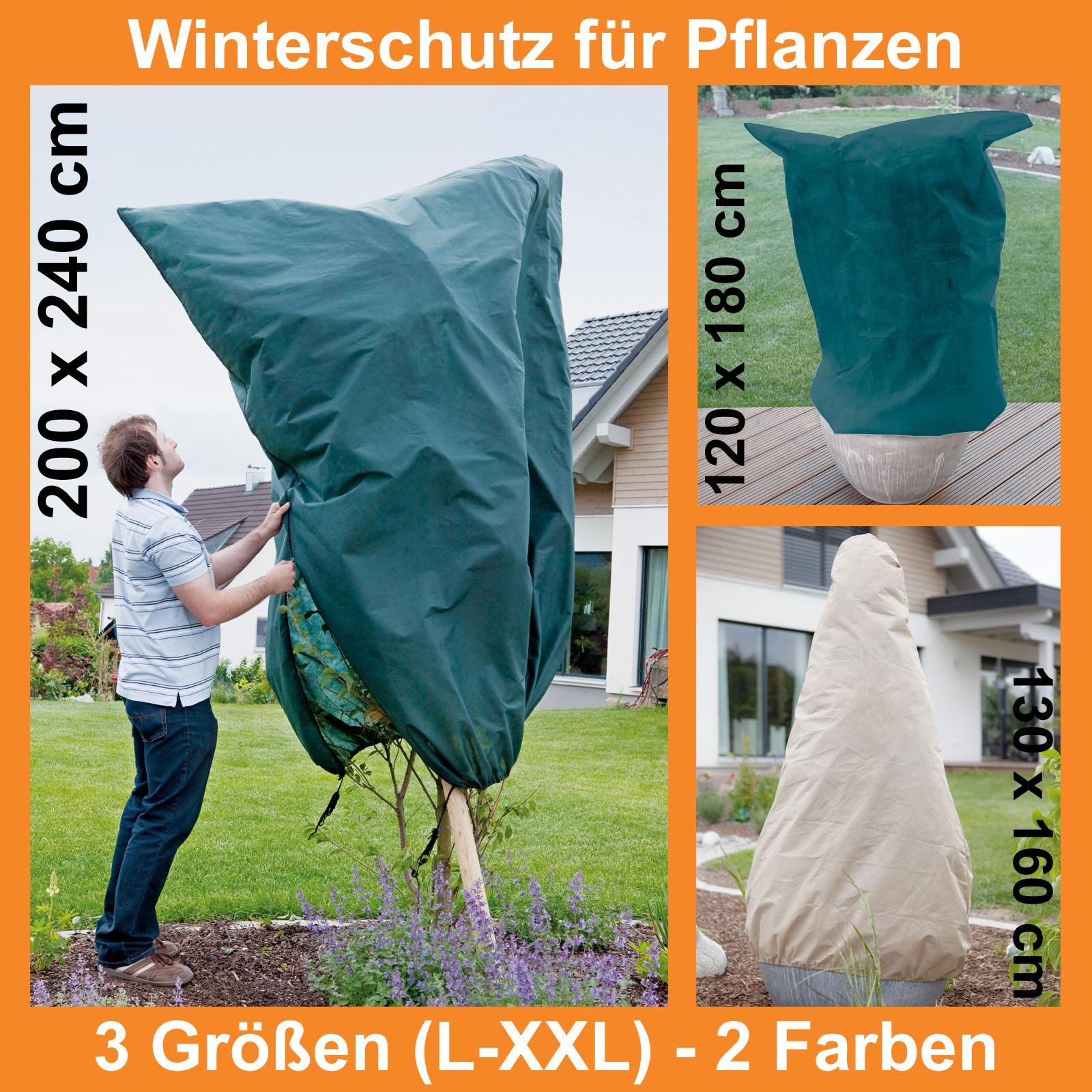 winterschutz frostschutz f r pflanzen wintervlies. Black Bedroom Furniture Sets. Home Design Ideas