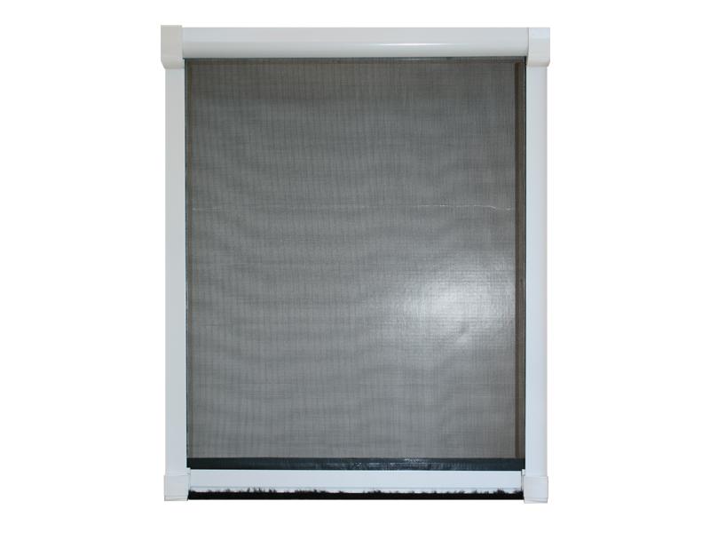 insektenschutz rollo fliegengitter insekten rollo f r fenster alu rahmen bausatz ebay. Black Bedroom Furniture Sets. Home Design Ideas