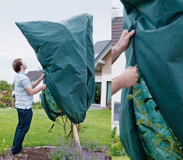xxl gro es wintervlies winterschutz frostschutz f r gro e pflanzen palme palmen ebay. Black Bedroom Furniture Sets. Home Design Ideas