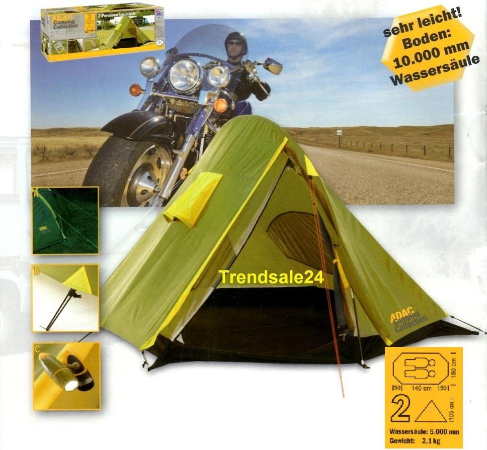 adac camping collection 2 personen bikerzelt biker zelt. Black Bedroom Furniture Sets. Home Design Ideas