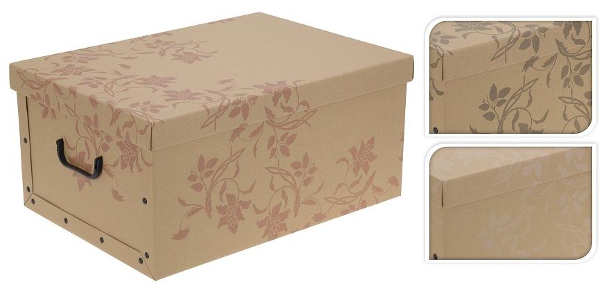 natur aufbewahrungsbox aufbewahrungskiste 51x37x24 eckig ebay. Black Bedroom Furniture Sets. Home Design Ideas