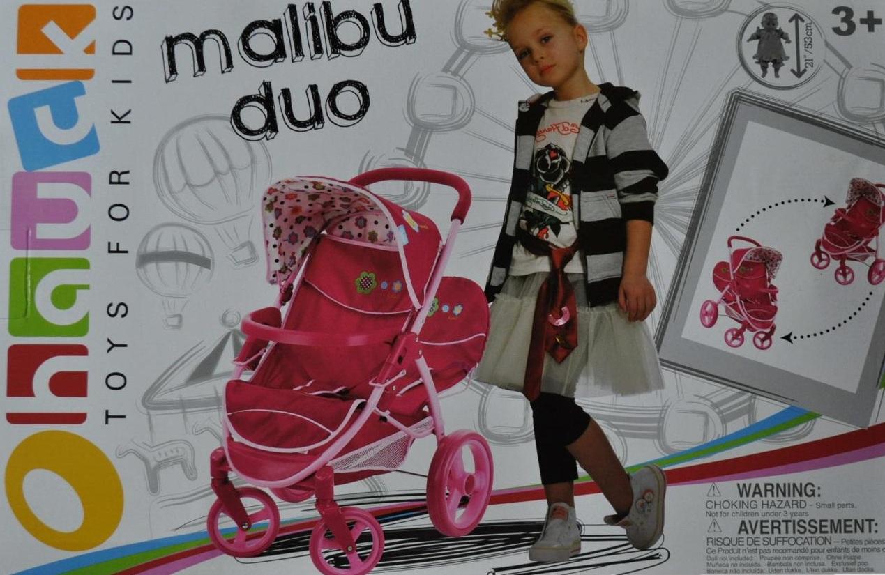 puppenwagen zwillingswagen malibu f 2 puppen ebay. Black Bedroom Furniture Sets. Home Design Ideas