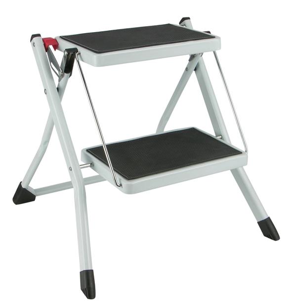 stufentrittleiter trittleiter stufentritt leiter m 2 stufen klappbar ebay. Black Bedroom Furniture Sets. Home Design Ideas