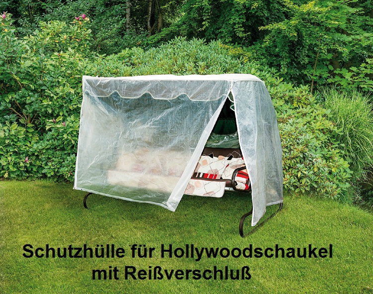 schutzh lle hollywoodschaukel gartenschaukel abdeckplane. Black Bedroom Furniture Sets. Home Design Ideas