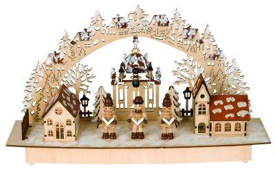 led weihnachts schwibbogen stimmungsleuchter aus holz. Black Bedroom Furniture Sets. Home Design Ideas