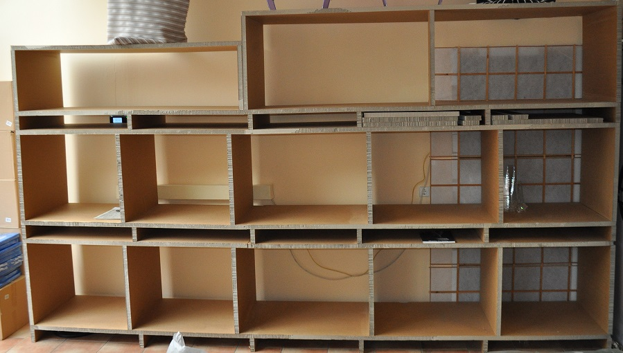 xxl pappregal regal verkaufsregal ladenregal stabil. Black Bedroom Furniture Sets. Home Design Ideas