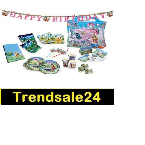 Scout Party Set 70 Tlg 8 Pers Einhorn Kindergeburtstag Ebay