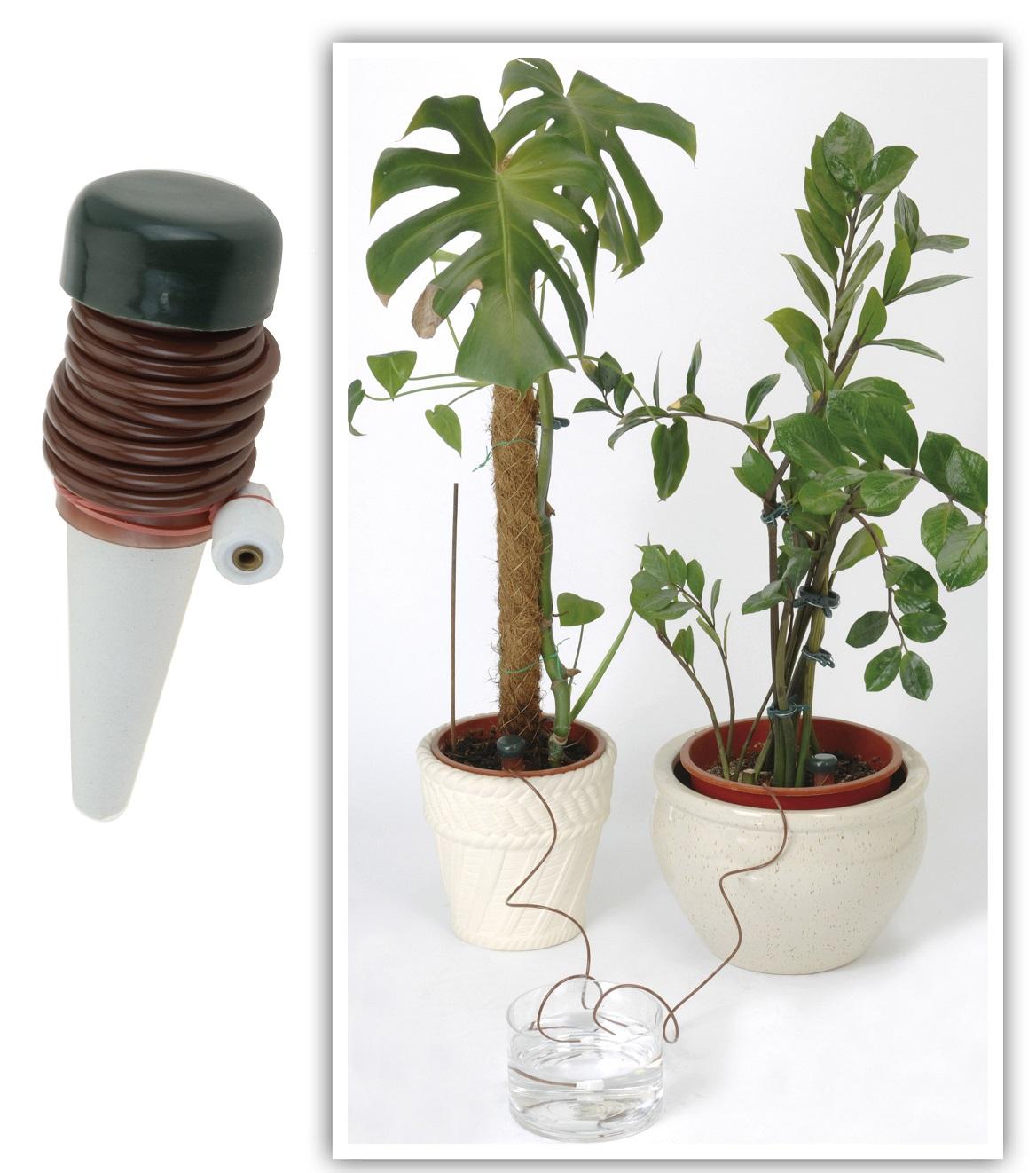 2 st ck pflanzen wasserspender pflanzenbew sserung f. Black Bedroom Furniture Sets. Home Design Ideas