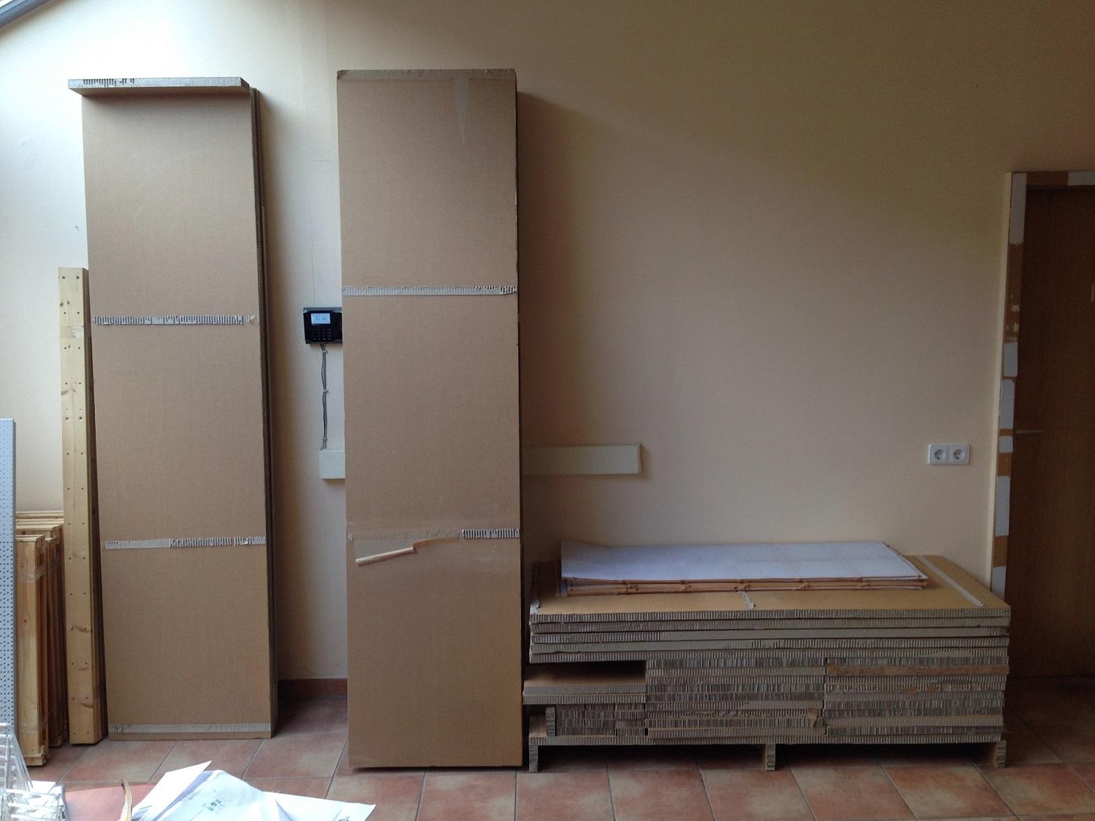 xxl pappregal regal verkaufsregal ladenregal stabil unikat. Black Bedroom Furniture Sets. Home Design Ideas