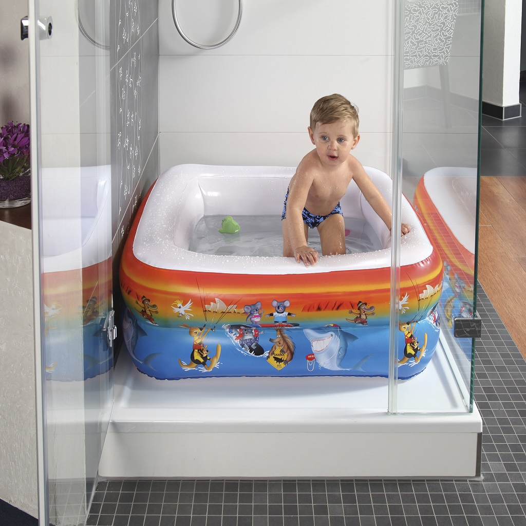baby wanne f r dusche bunte tierwelt planschbecken badewanne baby pool ebay. Black Bedroom Furniture Sets. Home Design Ideas