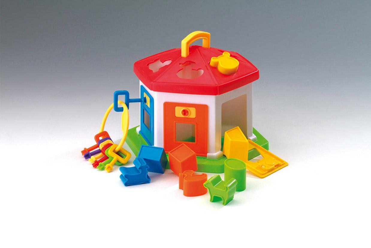 Baby spielzeug steckspiel haus mit schlüssel ebay