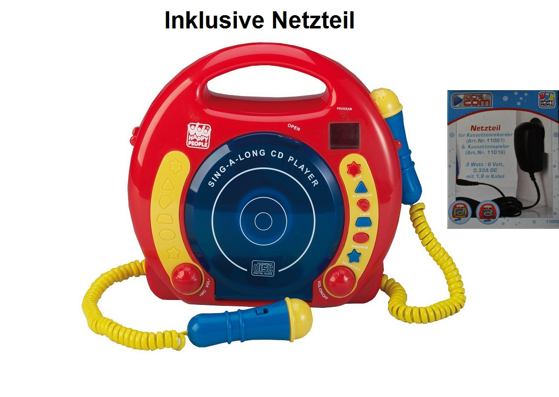 CD Player für Kinder CD Spieler inkl.Netzteil | eBay