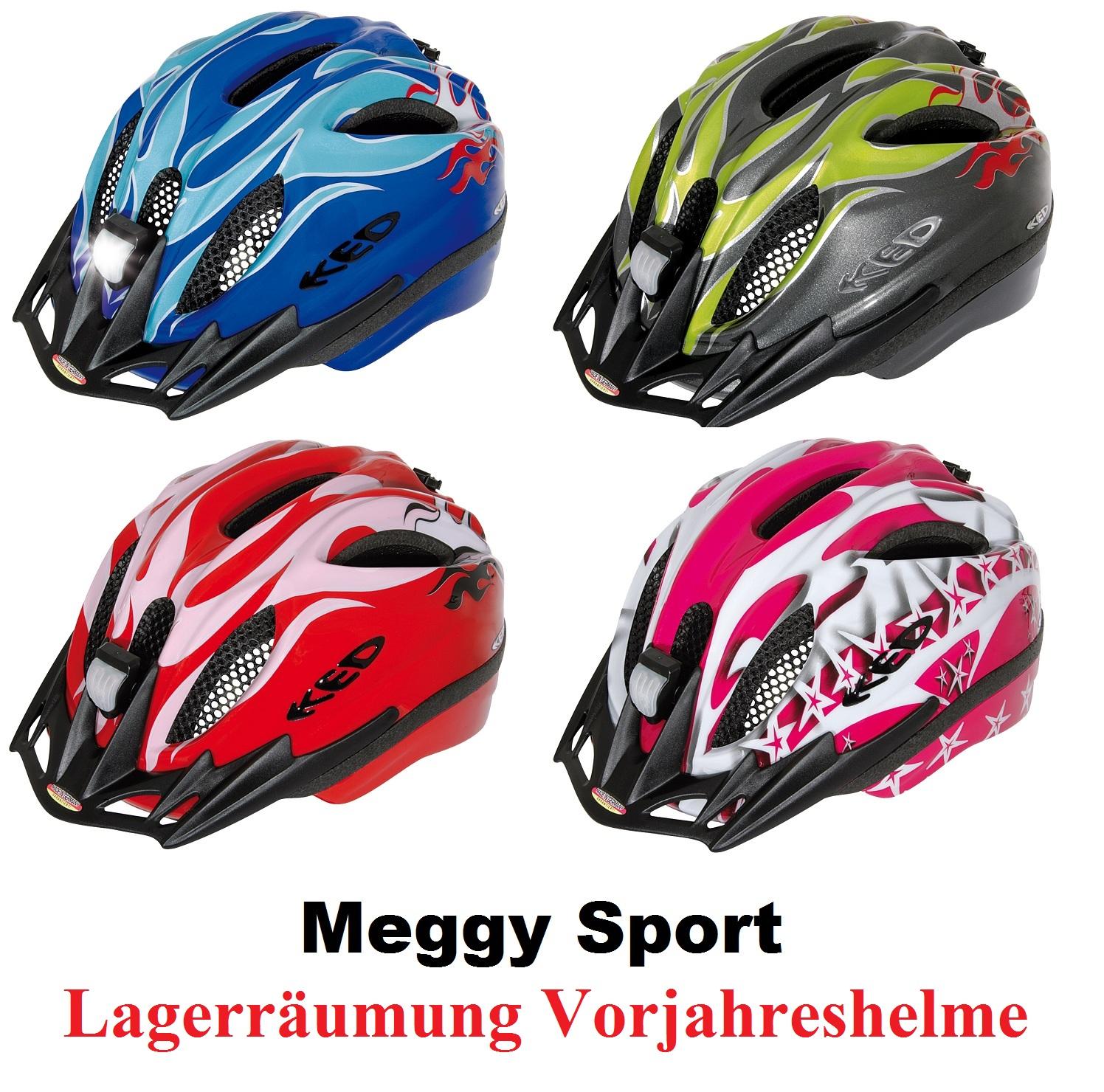 KED Fahrradhelm Meggy Sport II Skaterhelm Helm