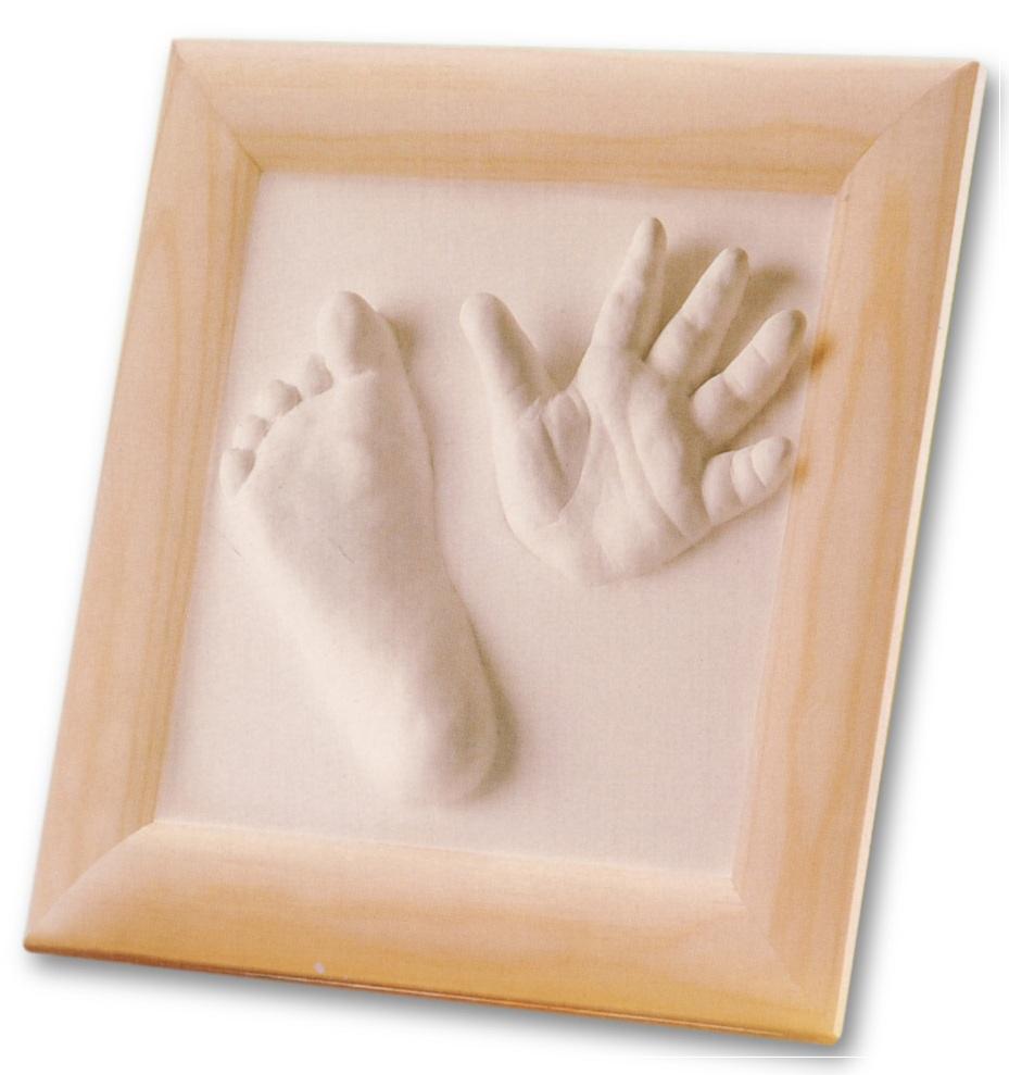 baby gipsset gipsabdruck hand fussabdruck gips set ebay. Black Bedroom Furniture Sets. Home Design Ideas