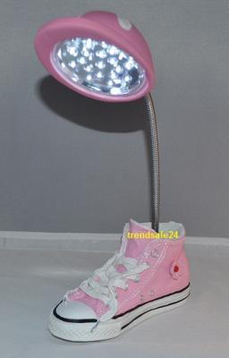 led lampe kinder schreibtischlampe schuh auswahl ebay. Black Bedroom Furniture Sets. Home Design Ideas