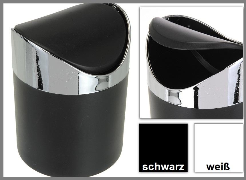 tisch abfalleimer m lleimer mini schwingdeckel eimer kosmetikeimer ebay. Black Bedroom Furniture Sets. Home Design Ideas