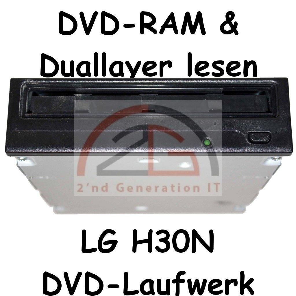 dvd rom lg gdr h30n dvd laufwerk 16x dvd 52x cd schwarz. Black Bedroom Furniture Sets. Home Design Ideas
