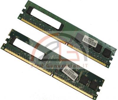 1GB-DUAL-KIT-2x-512MB-DDR2-PC-RAM-Speicher-667MHz-PC2-5300U-CL5-Marken-RAM-667