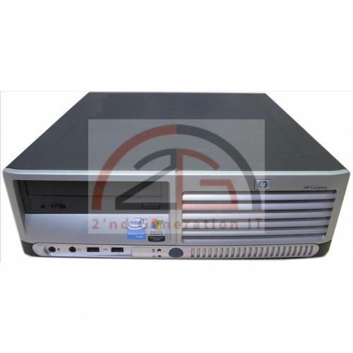 Computer-HP-Compaq-DC7100-Sff-Mini-PC-Intel-P4-HT-3-GHz-DVD-512MB-Aufruest-System