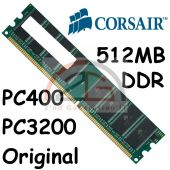 Original Corsair1x 512MB 0,5 GB DDR PC RAM Speicher 400MHz PC-3200U PC400 CL2,5