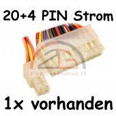 350W ATX Netzteil Silent 12cm min. 2x IDE / 2x SATA / 1x Floppy / 20+4 PIN / P4