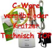 FRITZ!Box Fon WLAN 7113 AVM Fritzbox Router ADSL2+ 125 Mbit 2x analog 1x LAN C-W