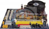Mainboard Gigabyte Sockel 775 + Prozessor Intel 2,8 GHz