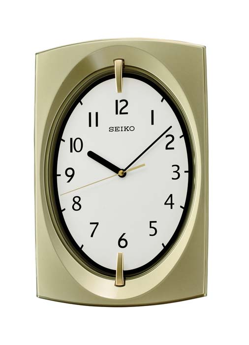 seiko qxa519g wanduhr modern quarzwerk ebay. Black Bedroom Furniture Sets. Home Design Ideas