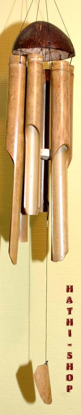 klangspiel windspiel mobile bambus 100 cm ebay