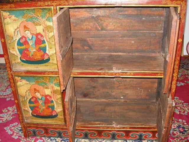 Tibet schrank buddha nagarjun ebay for Schrank yoga