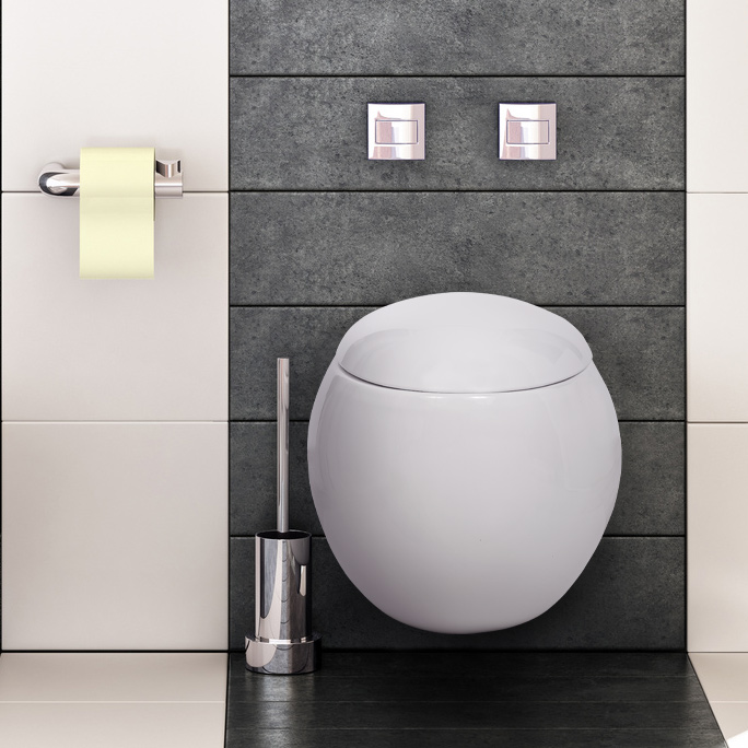 wand h nge wc sitz toilette sch ssel randlos soft silent close absenkautomatik ebay. Black Bedroom Furniture Sets. Home Design Ideas