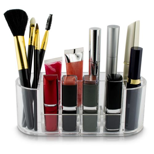 kosmetik organizer make up lippenstift st nder acryl f cher box aufbewahrung neu ebay. Black Bedroom Furniture Sets. Home Design Ideas
