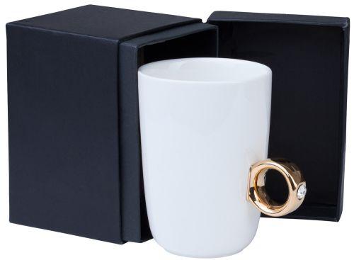 becher hochzeit tasse verlobungsring ring valentinstag. Black Bedroom Furniture Sets. Home Design Ideas