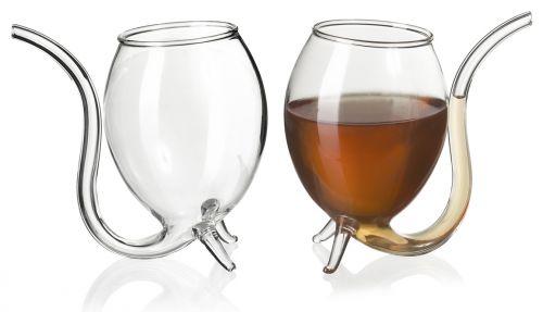 venkon teuflisches glas mit integriertem strohhalm f r. Black Bedroom Furniture Sets. Home Design Ideas