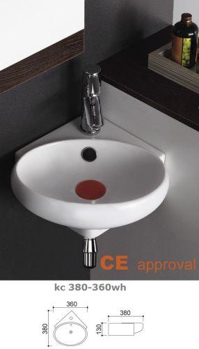 nano wachbecken eckwaschbecken eck waschsch ssel waschschale waschtisch g ste wc ebay. Black Bedroom Furniture Sets. Home Design Ideas