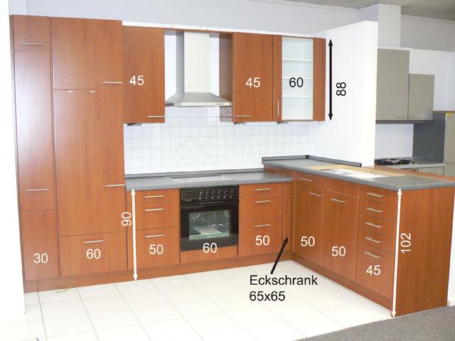 l k che kirsch apothekerschrank k ppersbusch franke ger te musterk che ebay. Black Bedroom Furniture Sets. Home Design Ideas